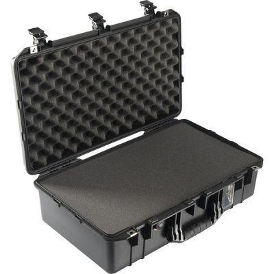 Case With Foam 1555, Black, Ext. Dim: 24.76'' x 15.46'' x 8.24'' (62.9 x 39.3 x 20.9 cm), PELICAN (015550-0000-110)