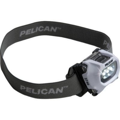 Headlight LED 2740, White, 3-AAA Cells, Lumens 66/ 36, PELICAN (027400-0100-230)