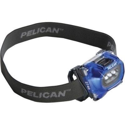 Headlight LED 2740, Blue, 3-AAA Cells, Lumens 66/36, PELICAN (027400-0101-120 (old p/n 027400-0100-120))