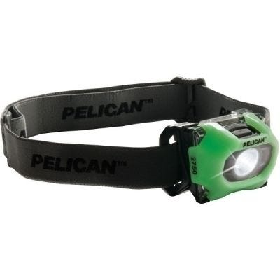Headlight LED 2750, Photo Luminscent, 3-AAA Lumens 193/63, PELICAN (027500-0101-247)