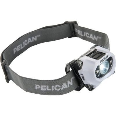 Headlight LED 2760, White, 3-AAA Cells, Lumens 204/141/95/42, PELICAN (027600-0100-230)