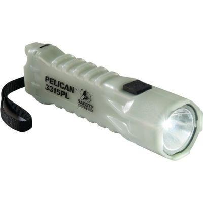 Flashlight LED 3315PL, 3-AA, Lumens 160, Class I, Div 1, Class II, Div 1, Class III, Div 1, PELICAN (033150-0102-247)