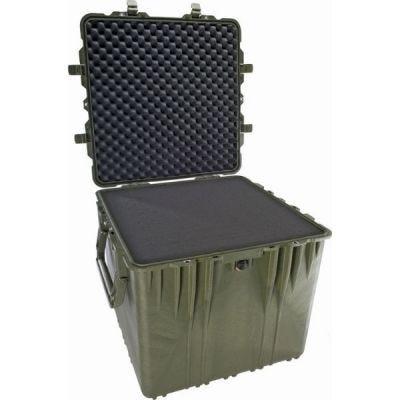 "Cube Case, Foam, 0340 OD Green, 20.50""x20.50""x19.25"", IP67,Stan 4280, Def Stan 81-41, PELICAN (0340-000-130)"