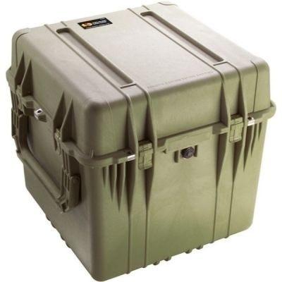 Cube Case, Foam, 0350, OD Green, 22.50'' x 22.43'' x 21.25'' (57.2 x 57 x 54 cm) IP67,Stan 4280, Def Stan 81-41, PELICAN (0350-000-130)