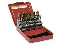 Set Drill Bits HSS jobber 41pcs, 6.0-10.0 x 0.1mm. HUNTER (14202-6.0-10.0)