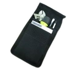Pouch, Tools Canvas, 3 Pockets, Type A, 7'' x 10'', Black Color. SNOWDEN (161469)
