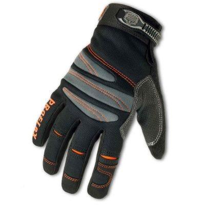 Glove, ProFlex #710 Full-Fingered Trades Series Glove Size: M, Color: Black, ERGODYNE (16153)