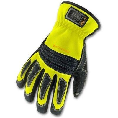 Glove ProFlex #730 Fire & Rescue Series Performance Series Gloves  Size: M, Color: Hi-Vis Lime, ERGODYNE (16363)