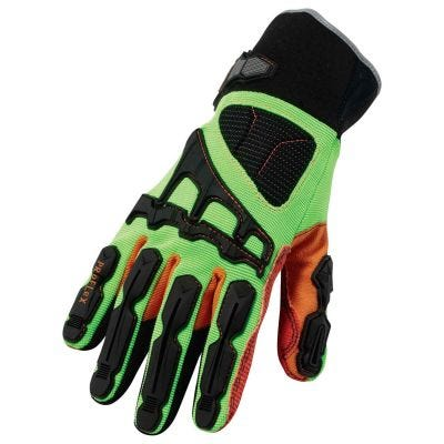 Glove ProFlex #925F(x)CP Cut, Puncture & Dorsal Impact-Reducing Gloves Series Size: M, Color: Lime, ERGODYNE (17073)