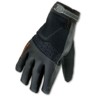 Glove, ProFlex #9002 Certified Anti-Vibration Series Glove Size: M, Color: Black, ERGODYNE (17323)