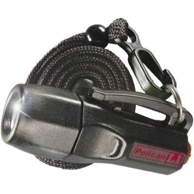 Flashlight, L1-LED 1930C, Black Lamp, 12 Lumens 4 x LR44, Intrinsically Safe, PELICAN (1930-010-110)