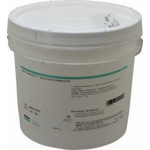 Dow Corning silicon grease release agent #7, 3.6 Kgs, translucent/White, Contains inert silica filler and polydiimethyl silicon fluids