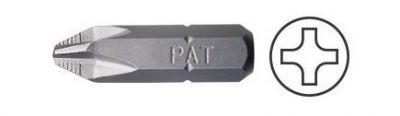 Screwdriver Insert Bit, Phillips Head Bit, ACR, 1/4'' Hex Insert #PH.2 x  1'' OAL, PAN AMERICAN TOOLS (440-2XACR)