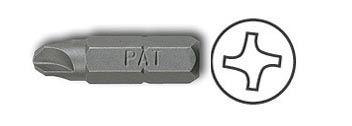 Screwdriver Insert Bits, Torq Set Head Bit, 1/4'' Hex Insert, point size 6 x 1'' OAL, PAN AMERICAN TOOLS (212-6)