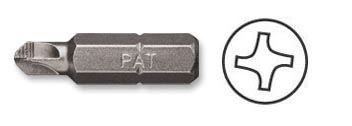 Screwdriver Insert Bits, Torq Set Head Bit, ACR, 1/4'' Hex #T10 x 1'' OAL, PAN AMERICAN TOOLS (212-10ACR)