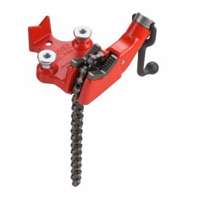 Vise, BC810 Bench Chain Pipe Cap 1/2''-8'' / 15-200 MM , RIDGID (40215)