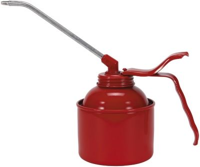 Oiler Standard- Steel Body, - St-red EWKP - Spout, Capacity: 350 ml. PRESSOL (5114)
