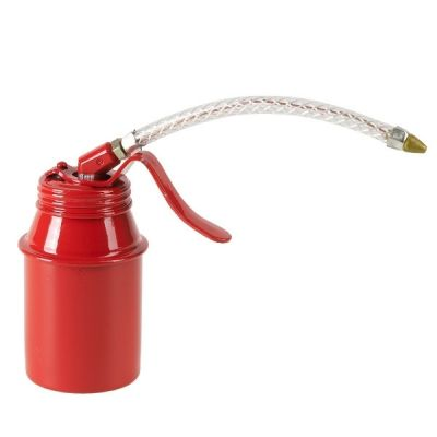 Oiler Standard- Steel Body,- St-Red EWKP-Superflex Spout, Capacity: 125 ml. PRESSOL (5121)