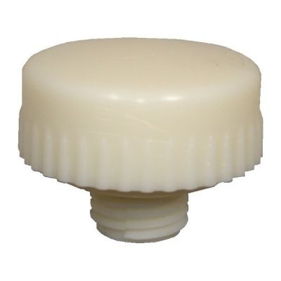 Face Mallet Nylon Hard White, 63mm Diameter. THOR (76-720NF)