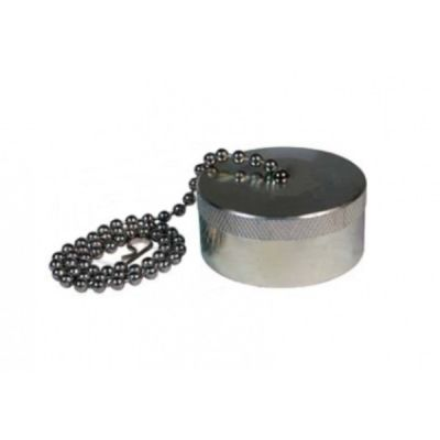 Cap Dust Screw Type Size 1.1/2'', 7800 Series Hydraulic Thread-to-Connect Plug, Steel