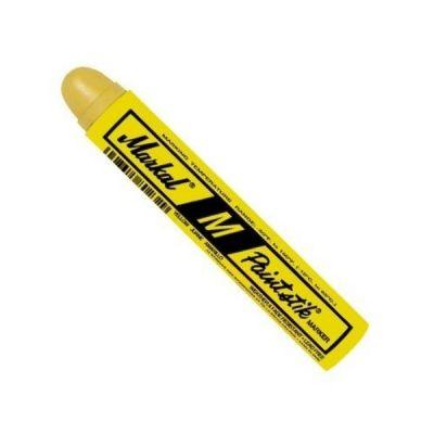 Marker Paint Stick, Solid Marker Paint Stick Marker M, high temperature, Yellow Color, 12pcs/box, MARKAL (81921)