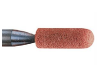 Stone Mounted Point, Aluminium Oxide, Hardness O, Series A, 06 x 19mm (D x T), Grit size: 60mm, Shank 6mm, PFERD (A24)