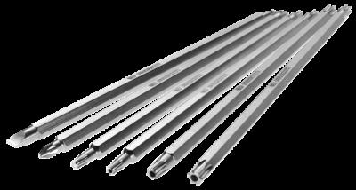 Blade, Phillips Reversible PH2 - PH3, Chromed Finish, FACOM (AMZ.P2-3)
