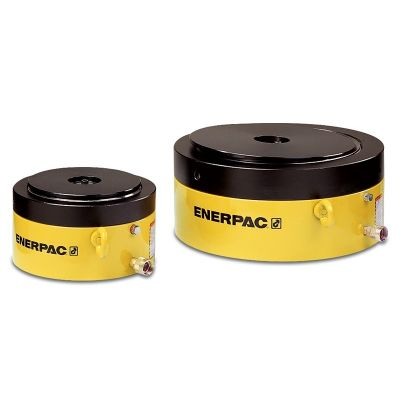 CLP-Series Single Acting Pancake Lock Nut Cylinders, Capacity: 60 - 500 Tons, Stroke: 1.77 - 1.97 In., Max. Operating Pressure: 10,000 PSI , ENERPAC (CLP602)