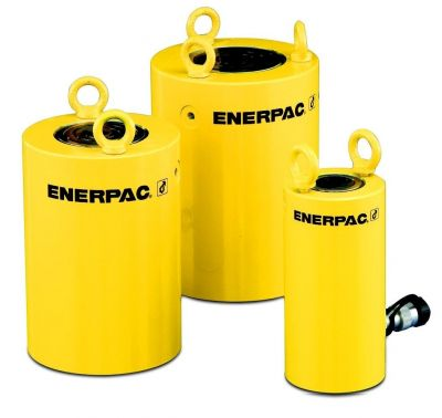 CLSG Series Single Acting, High Tonnage Cylinders, Capacity: 50 - 1,000 Tons, Stroke: 1.97 - 11.81 In., Max. Operating Pressure: 10,000 PSI, ENERPAC (CLSG502)