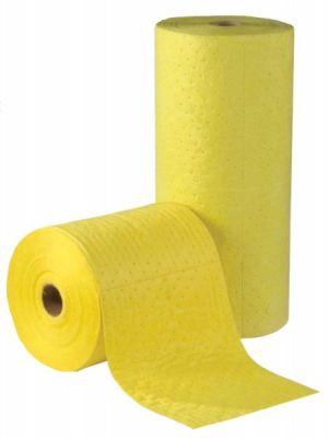 Roll, absorbent, laminated, Hazchem, 50m x 1m, 200gsm. SPILL STATION (CR312)