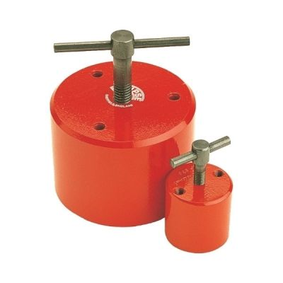 Magnetic Holdfasts, 2.1/8'', Max Pull: 40kg, Dimension: 55mm diameter 49.5mm height, ECLIPSE (E940)