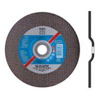 Disc Cutting Depressed-Centre Type EH (41) Aluminium Oxide A 125 x 2.4 x 22.2mm (D x T x H), Max. RPM 12,200 , Grit 46 For Stianless Steel (INOX), PFERD (EH125-2.4A46RSG-INOX)