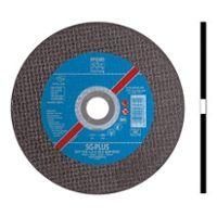 Disc Cutting Flat Type EHT (41) Aluminium Oxide A 115 x 2.4 x 22.2mm (D x T x H), Max. RPM 13,300 , Grit 46 For Stainless Steel, PFERD (EHT115-2.4A46RSG-INOX)