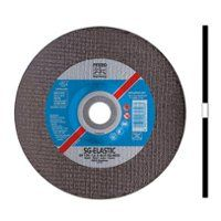 Disc Cutting Flat Type EHT (41) Aluminium Oxide A 40 x 2.1 x  6 mm (D x T x H), Max. RPM 38,200 , Grit 46 For Steel/INOX/Cast Iron/Non-Ferrous Metals, PFERD (EHT40-2.1A46PSG)