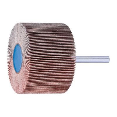 Flap Wheel Mounted, Aluminium Oxide 40 x 10 x G80, 6mm Shank. PFERD (F4010-6A80)