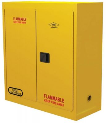 Cabinet, Flammable Storage, 1 door, 1 shelf. SPILL STATION (FC1D15)