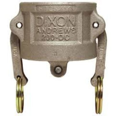 Cap, Global Cam & Groove Type DC Dust Caps, Size 3/4'', 316 Investment Cast Stainless Steel, DIXON (G75-DC-SS)