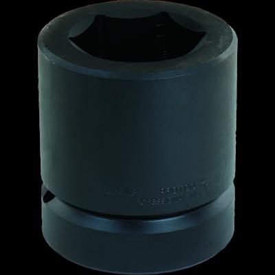 2.1/2'' Drive Socket Standard Impact 6 Point, 1.7/8'' AF, 5.3/8'' OAL, steel black finish, PROTO (J25030)
