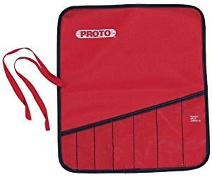 Storage Pouch 1 Pockets, 7'', Reinforced Pockets, Canvas Red, PROTO (25TR11C)