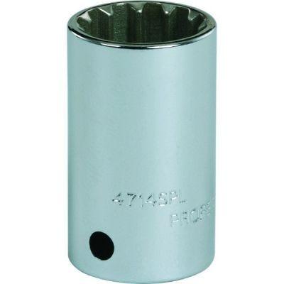 1'' Drive Socket Standard spline 1'' AF #32, 2.7/16'' OAL, steel chrome finish, PROTO (J5732SPL)