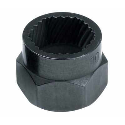Extractor Bolt Socket 7mm, 1/4'', 9/32'', Steel Black Finish, PROTO (J69X09)