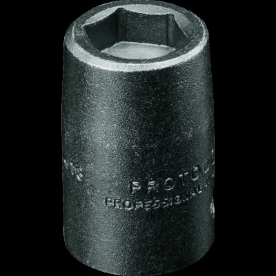 3/8'' Drive Socket high Strength magnetic Impact 6 Point, 5/16'' AF, 1.3/32'' OAL, steel black finish, PROTO (J7210HF)