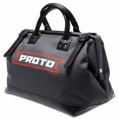 Storage Bag Canvas LxD 18'' x 9'', Heavy Duty Reinforced With Vinyl Bottom, PROTO (J95311)