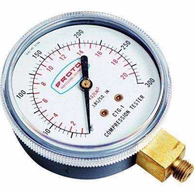 Tester Repair Kit Compression Gauges Parts For JCT21 & JCTR10, 2.1/2'', Length 3.1/2'', PROTO (JCTG1)