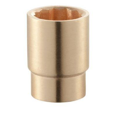 3/4'' Drive Socket Standard Non - Spark 12 Point Metric 17mm, Anti Magnetic Copper Beryllium Alloy, FACOM (K.17SR)