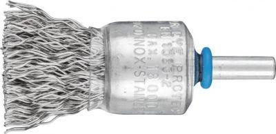 Brush Wire Pencil Mounted Stainless Steel (INOX), 30mm diameter 6mm shank, PFERD (PBU3029-6INOX0.20)