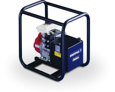 PGM Series Gasoline Pump, Reservoir Capacity: 1.0 - 2.0 Gal., Max. Operating Pressure: 10,000 PSI, ENERPAC (PGM2304R)