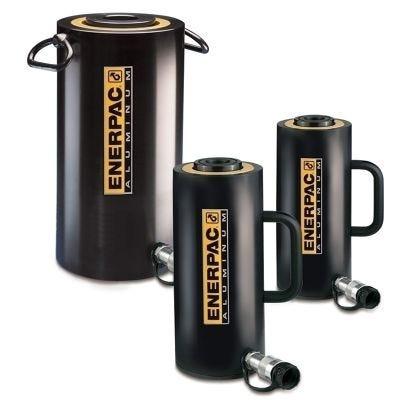 RAC-Series, Single Acting Aluminium Cylinders, Capacity: 20 - 150 Tons, Stroke: 1.97 - 7.87 In., Max Operating Pressure: 10,000 PSI, ENERPAC (RAC206)
