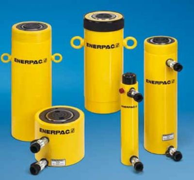 RR Series Double Acting, Long Stroke Cylinders, Capacity: 10 - 500 Tons, Stroke: 2.25 - 48.00 In., Max. Operating Pressure: 10,000 PSI, ENERPAC (RR1010)