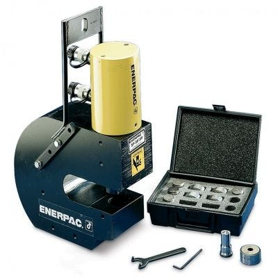 SP Series Hydraulic Punch, Capacity: 50 Tons, ENERPAC (SP5000E)